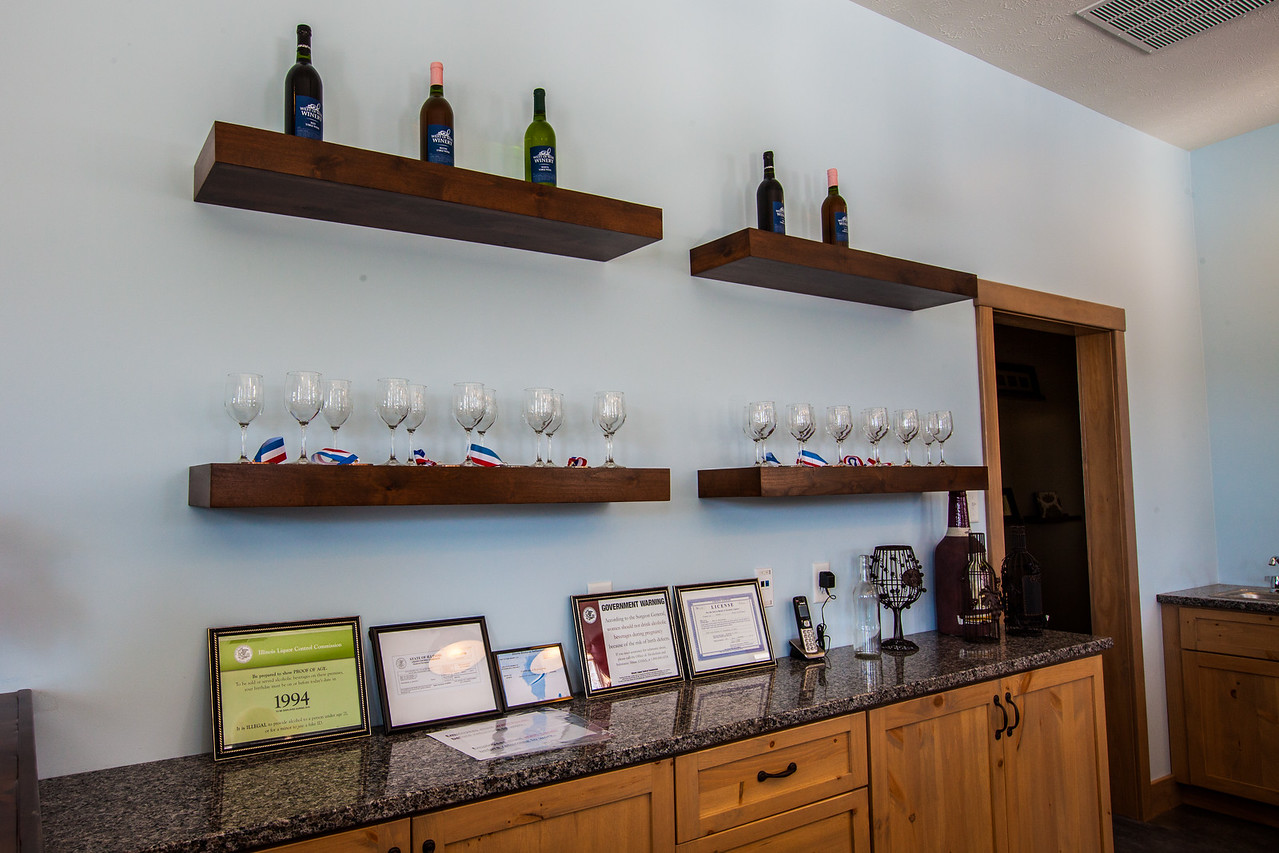 West of Wise Winery interior counter