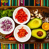Guacamole - ingredientes