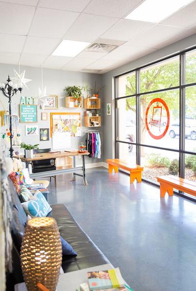 Orange Easel School of Art