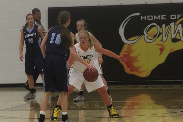Comet girls' and boys' basktball vs. Unity Christian 1-10-16
