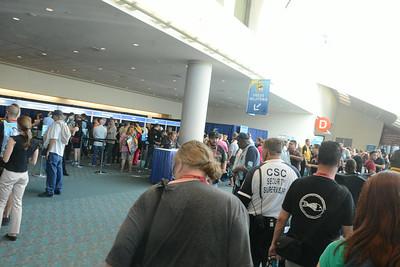 Comic-Con International, San Diego CA, 23-27 July 2014