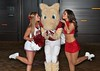Oklahoma cheer and mascot