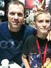 Tommy with Adam Baldwin of Chuck