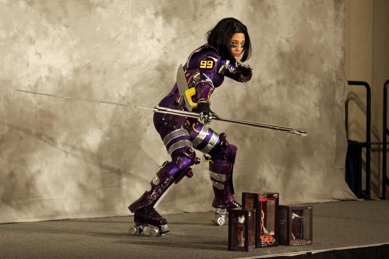 Motorball Alita<br /> <br /> Anime Pavilion: First Place and<br /> Diamond Select Toys Company Prize:<br /> <br /> Worn By: Fuji Dreskin<br /> Designed and Made By: Fuji Dreskin