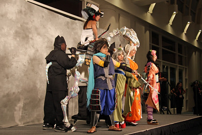 Muramasa: Smells Like Demon Spirit  The Testmarket Evolution: Most Entertaining Presentation  Worn By: Wayne Kaa, Lance Ikegawa, Sarah Clark, Henry Lee, Lydia Chen, Umi, H.K. and P.K. Designed and Made By: Wayne Kaa, Lance Ikegawa, Sarah Clark, Henry Lee, Lydia Chen, Umi, H.K. and P.K.