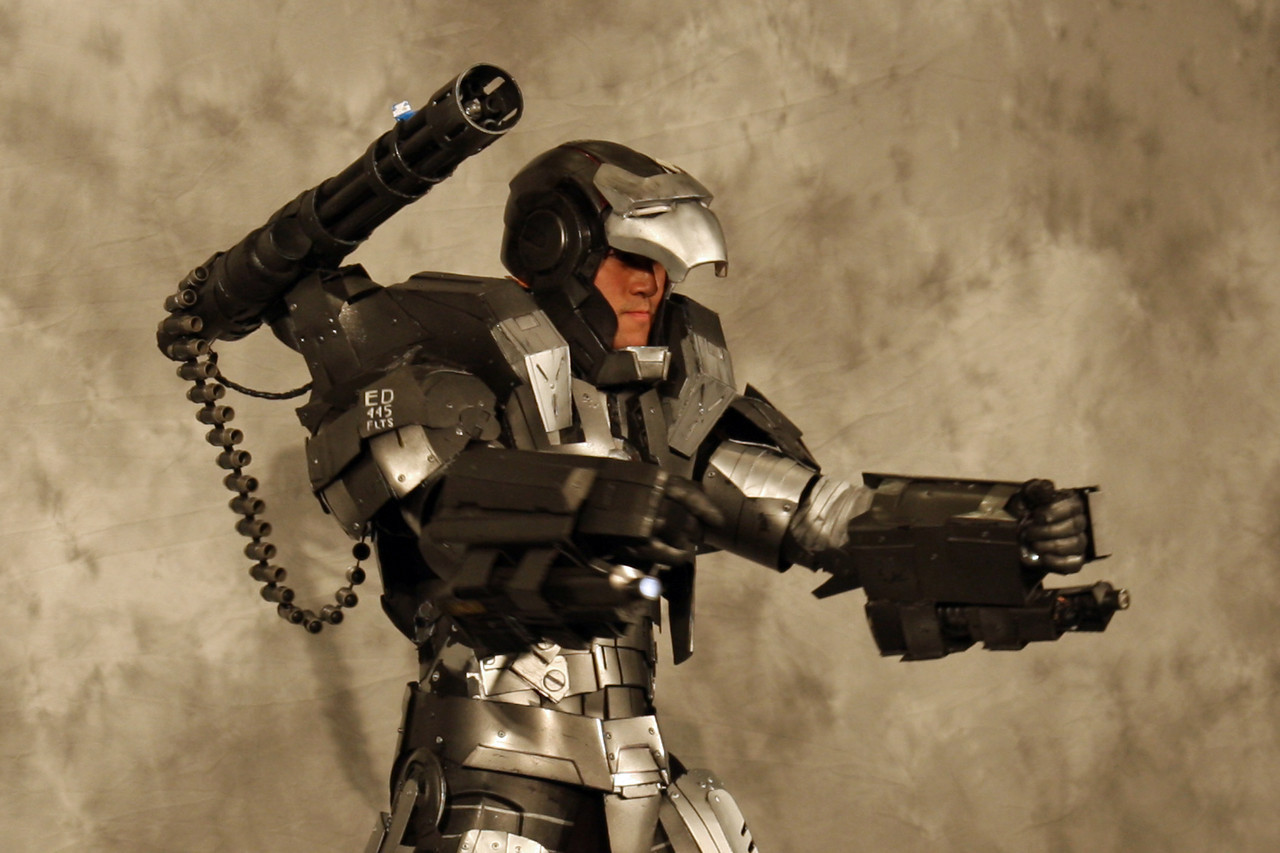 War Machine<br /> <br /> Best Re-Creation,<br /> Anime Pavilion Runner-up and<br /> The David C. Copley Prize For The Most Innovative Costume<br /> <br /> Designed and Made By: Anthony Le and Master Le.