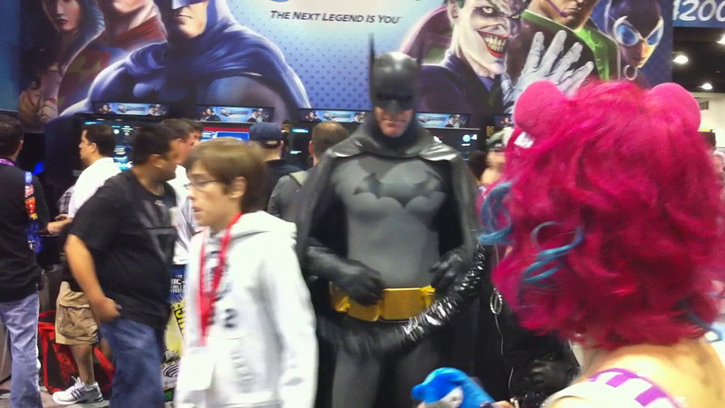 Batman & Catwoman at Comic Con