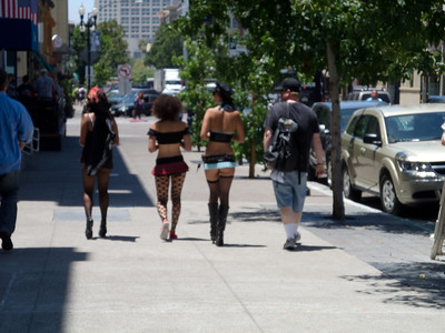 Yep!!…This was an outfit worn to Comic-Con…and yes minutes later a tiny gust of wind came about...