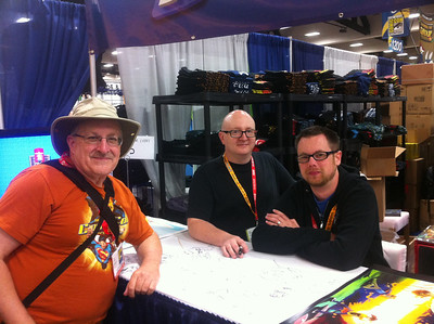 Jerry Holkins (Tycho) and Mike Krahuli (Gabe) from Penny Arcade!