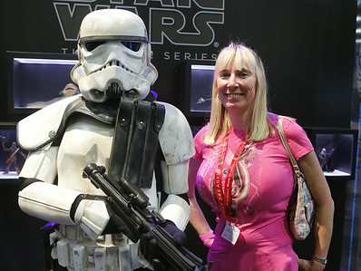 Wife + StormTrooper = Cool