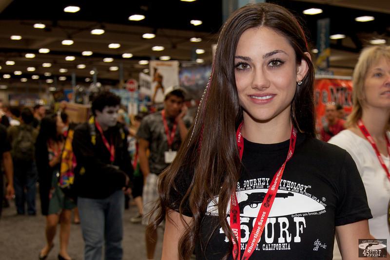 Comic-Con's Prettiest Girl!  The Most Beautiful Woman at Comic Con!