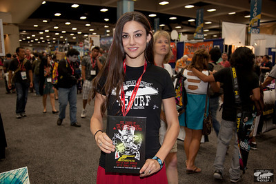 Comic-Con's Prettiest Girl!  The Most Beautiful Woman at Comic Con!