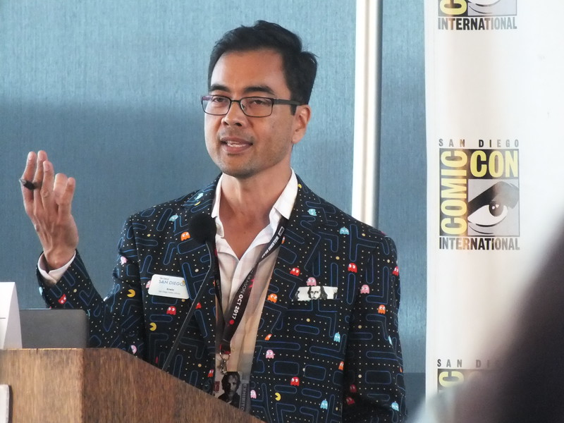 "Erwin Magbanua was happy to organize and host the 2nd Annual ""Comic Conference for Educators and Librarians"" as part of the 2017 San Diego International Comic Con (SDCC) at the San Diego Central Public Library, held last July 19-22."