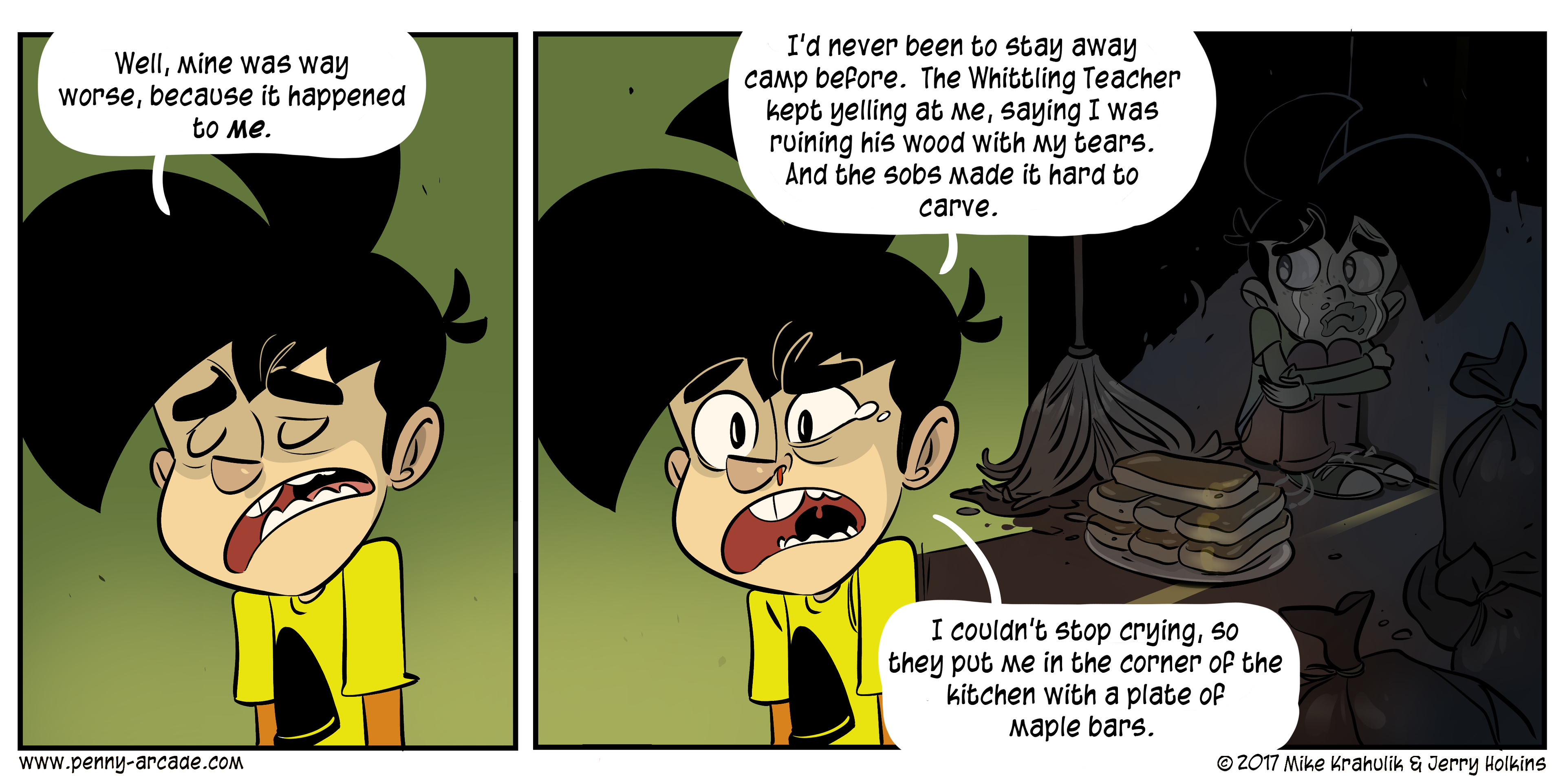 Dumber Camp, Part Three