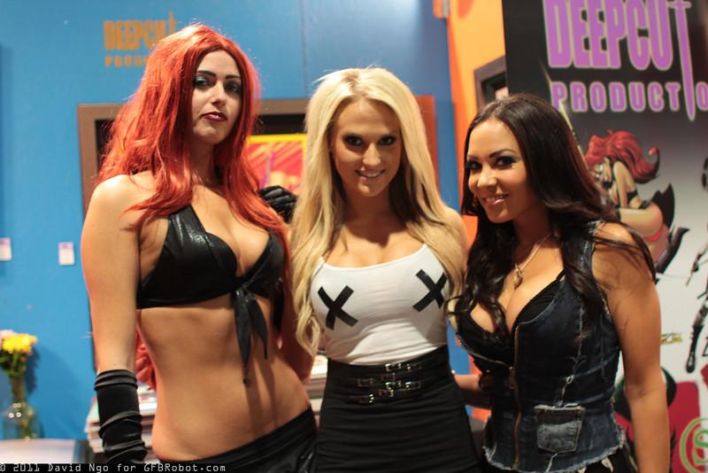 Stripperella, Heidi Shepherd, and Carla Harvey