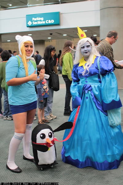 Fiona and Ice Queen