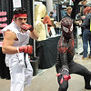Ryu and Spider-Man