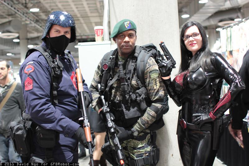 Cobra, Stalker, and Baroness