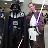 Darth Vader and Obi-Wan Kenobi