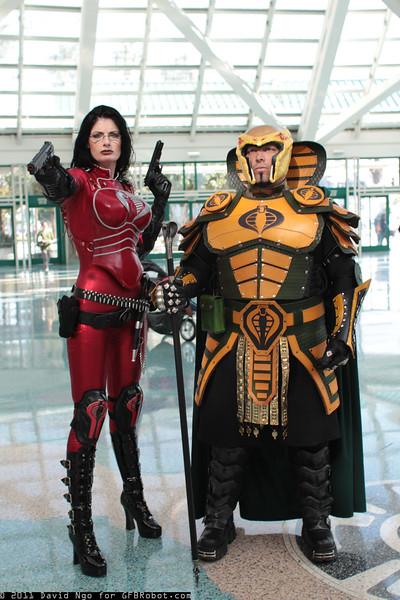 Baroness and Serpentor