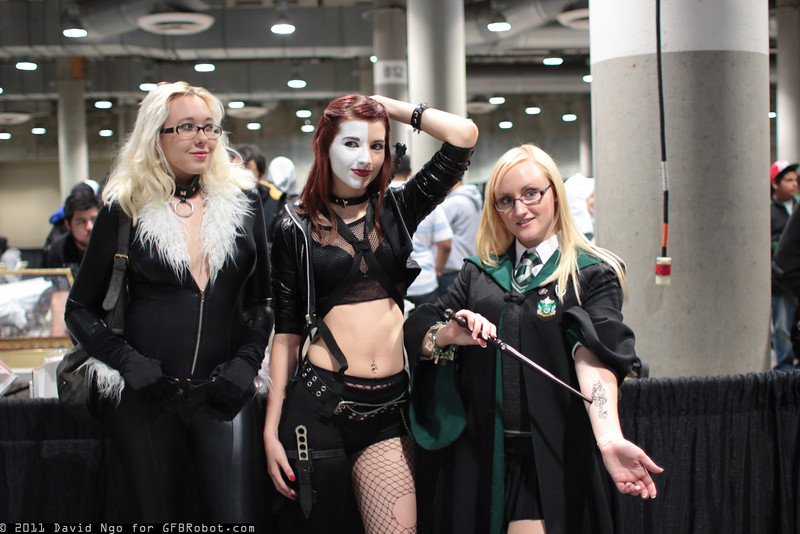 Black Cat, Typhoid Mary and Slytherin Student