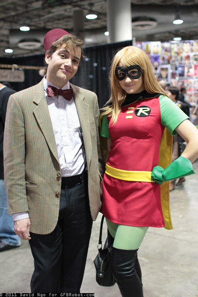 Doctor Who and Robin