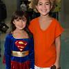 Supergirl and Goku