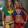 Phoenix and Supergirl