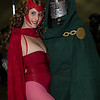Scarlet Witch and Dr. Doom