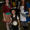 Mad Hatter, White Rabbit, and Alice
