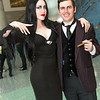 Morticia Addams and Gomez Addams