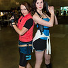 Claire Redfield and Jill Valentine