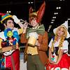 Pinocchio, Lampwick, Dutch Puppet, and Jiminy Cricket
