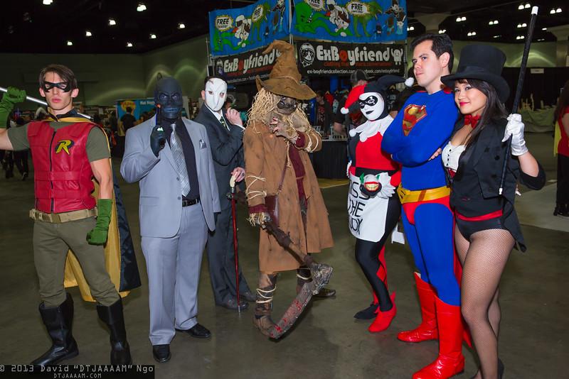 Robin, Black Mask, Court of Owls, Scarecrow, Harley Quinn, Superman, and Zatanna