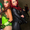 Poison Ivy and Black Widow