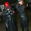 Red Skull and Catwoman