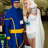 Cyclops and Emma Frost