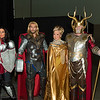 Sif, Thor, Freya, and Odin