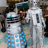 Dalek and Cyberman