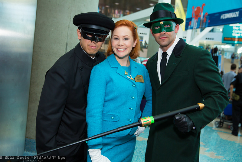 Kato, Lenore Case, and Green Hornet