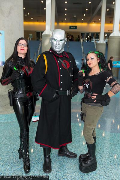 Baroness, Destro, and Zanya