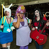 Fionna, Lumpy Space Princess, and Marceline