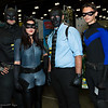 Batman, Catwoman, Black Mask, and Nightwing