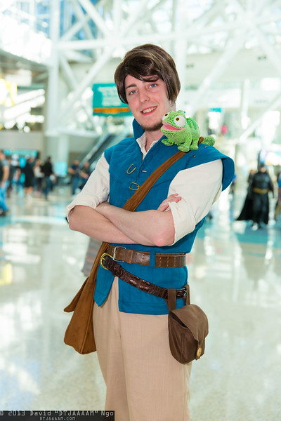 Flynn Rider and Pascal