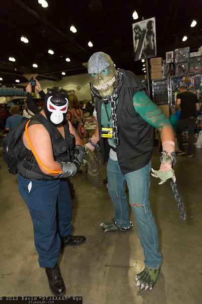 Bane and Killer Croc