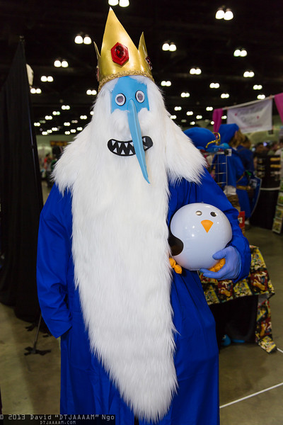 Ice King and Gunter