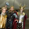 Freya, Thor, and Odin