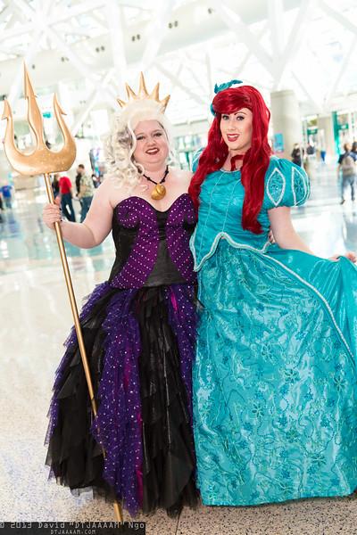 Ursula and Ariel