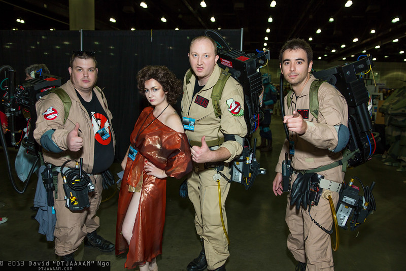 Ghostbusters and Zuul