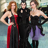 Queen of Hearts, Maleficent, and Ursula